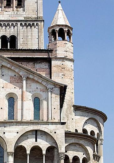 Duomo, Modena. Emilia-Romagna, Italy : Stock Photo