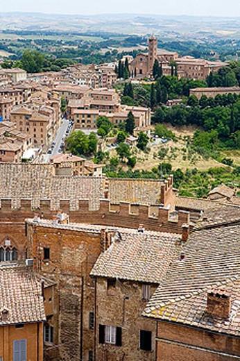 Siena. Tuscany, Italy : Stock Photo