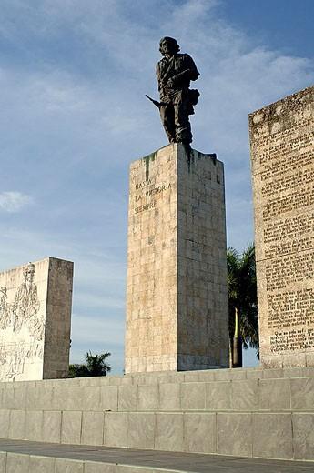 Stock Photo: 1566-338646 Complejo Escultórico Memorial Comandante Ernesto Che Guevara (sculptor: José de Lázaro Bencomo). Santa Clara, Cuba