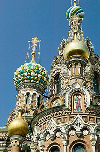 Church of the Savior on Spilled Blood. St Petersburg. Russia : Stock Photo