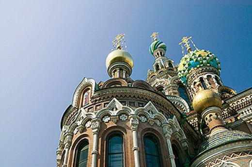 Stock Photo: 1566-339007 Church of the Savior on Spilled Blood. St Petersburg. Russia