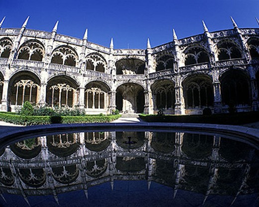 Jeronimos monastery, Lisbon, Portugal. : Stock Photo