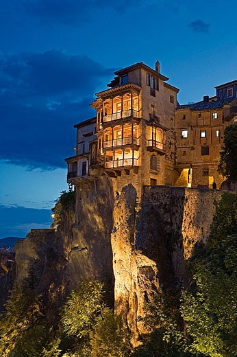 Stock Photo: 1566-343923 The Hanging Houses. Cuenca (World Heritage). Castilla-La Mancha, Spain (2006)