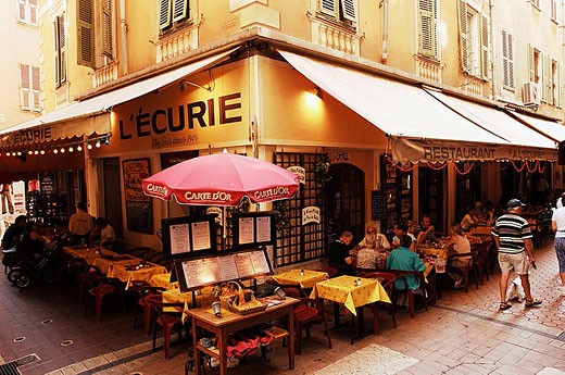 Old town. Nice. Alpes Maritimes. Francia. : Stock Photo