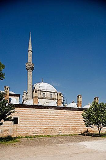 Stock Photo: 1566-345967 Tomboul mosque, 1744. The biggest in Bulgaria. Sumen, Choumen. Bulgaria.