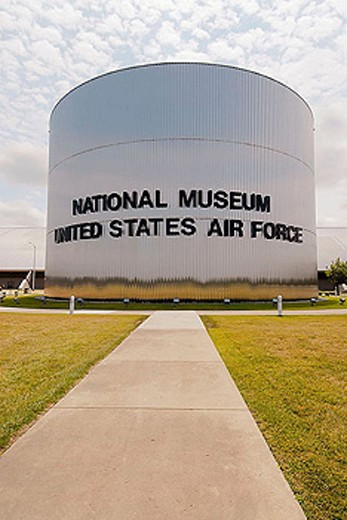 United States Air Force Museum at Dayton (Ohio) or The National Museum of the USAF United States Air Force at the Wright Patterson Air Force Base : Stock Photo