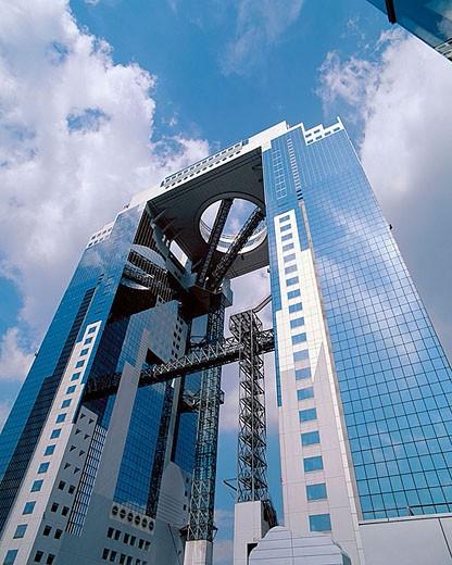 Umeda Sky Building. Umeda area, Osaka. Honshu, Japan : Stock Photo