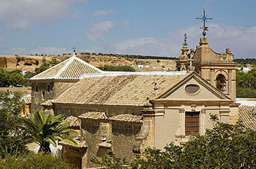 Monastery of the Encarnación, Osuna. Sevilla province, Andalusia, Spain : Stock Photo
