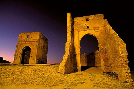 Marinid tombs, Fes. Morocco : Stock Photo