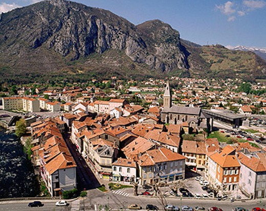 Tarascon. Ariège département, France : Stock Photo