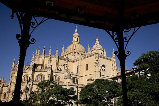 Cathedral, Segovia. Castilla-León, Spain : Stock Photo