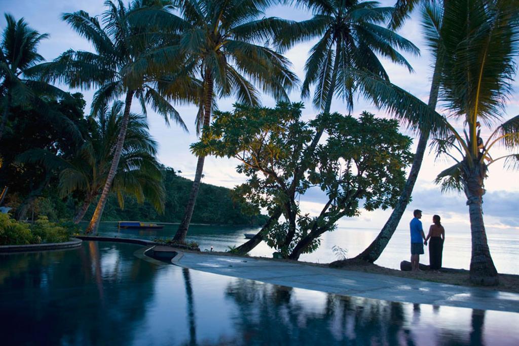 Beqa Lagoon Resort, Beqa Island off Southern Viti Levu, Fiji, South Pacific : Stock Photo