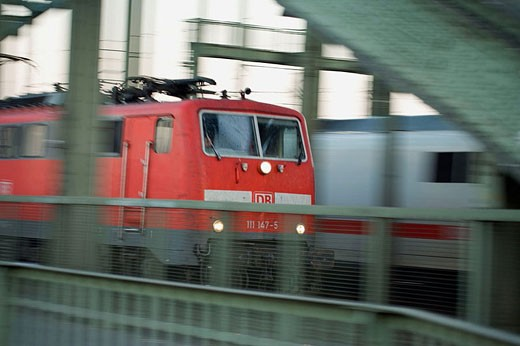 Stock Photo: 1566-353544 Cologne (Koln) Train Station, one of the oldest cities in Germany, Western Germany