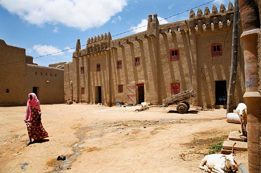 Typical houses, Djenné. Mali : Stock Photo