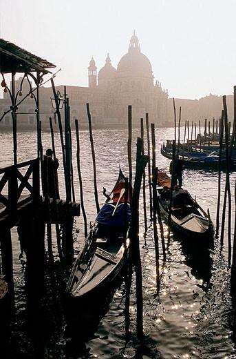 Stock Photo: 1566-354144 Santa Maria della Salute, Venice, Italy
