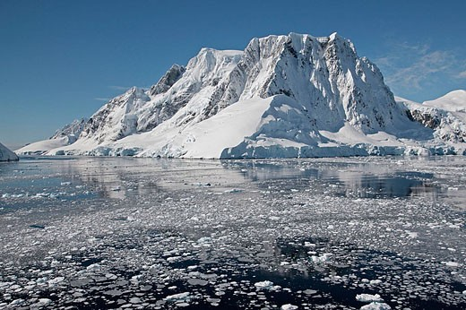 Lemaire channel. Antarctica : Stock Photo