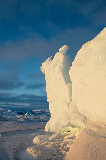 Snow Hill Island. Antartic Peninsula : Stock Photo