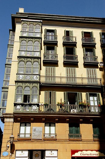 Old Town. Casco Viejo. Bilbao. Spain : Stock Photo