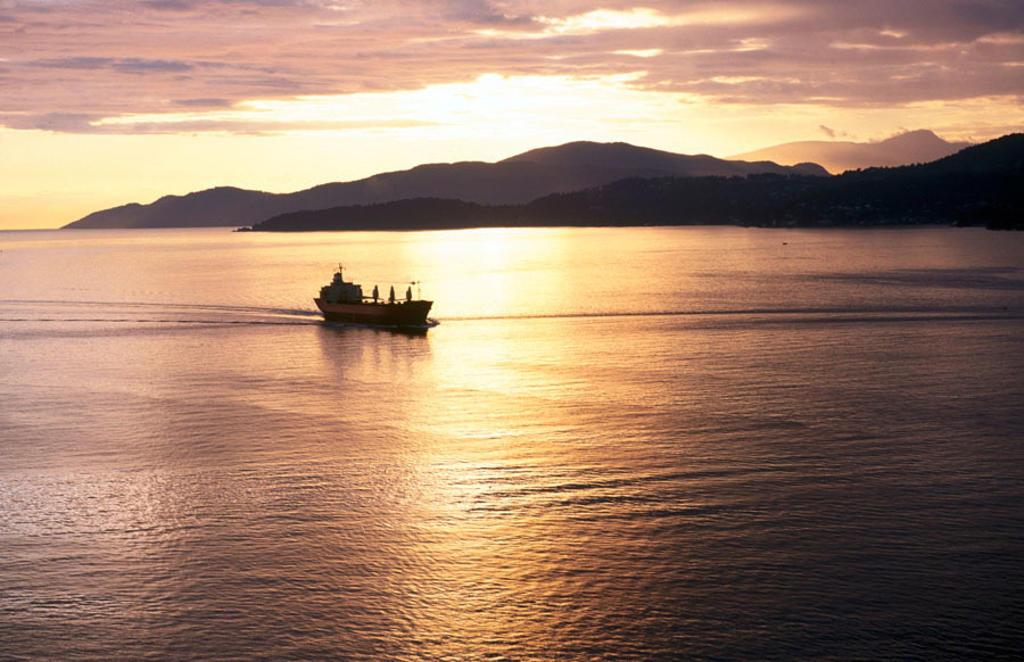 English Bay. Vancouver. British Columbia. Canada. : Stock Photo