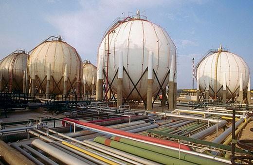 Chemical plant. Tarragona province. Spain : Stock Photo