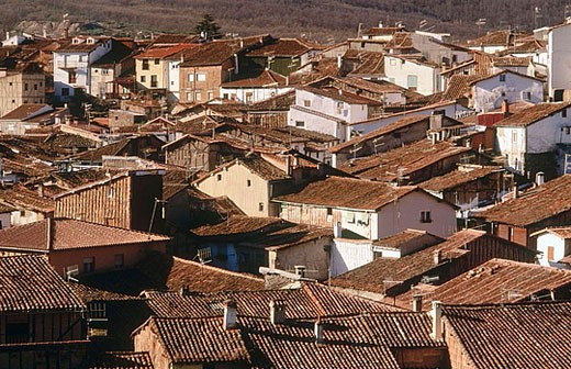 Stock Photo: 1566-357795 Jewish quarter. Hervás. Cáceres province, Extremadura, Spain