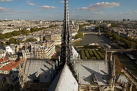 Stock Photo: 1566-358433 Notre Dame cathedral, Paris. France