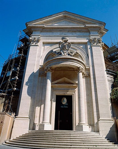 ´Sant´Andrea al Quirinale´ church, by G. Bernini. (1658-1670). Rome. Lazio. Italy : Stock Photo