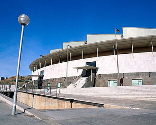 Palacio Municipal de Deportes. Badalona. Barcelona province. Spain. : Stock Photo