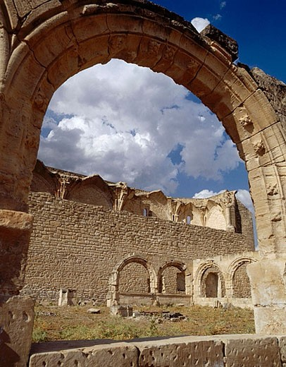 Monasterio del Rosal. Near Priego de Cordoba. Córdoba province. Andalucia. Spain. : Stock Photo