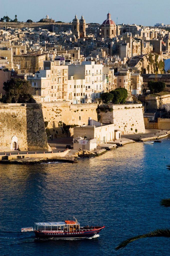 Grand Harbour. La Valletta. Malta : Stock Photo