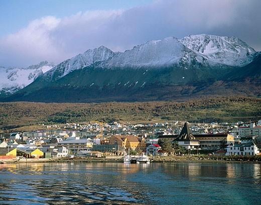 Ushuaia. Tierra del Fuego, Patagonia, Argentina : Stock Photo