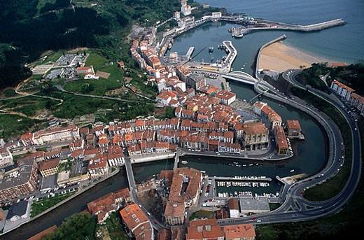 Ondarroa. Vizcaya. Euskadi. Spain. : Stock Photo