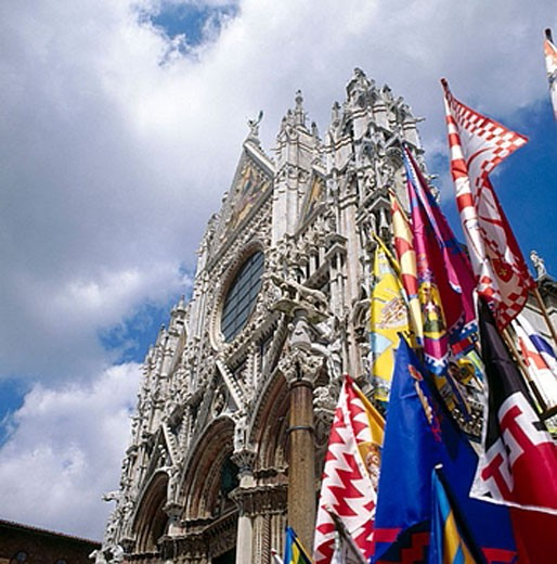 Cathedral (13-14th centuries). Siena. Tuscany, Italy : Stock Photo