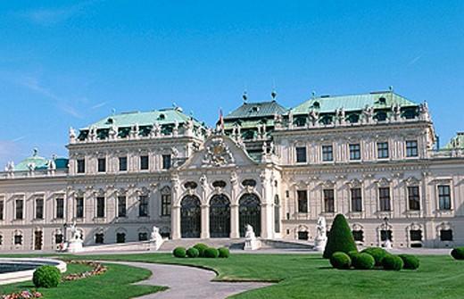 Stock Photo: 1566-361053 Belvedere Palace. Vienna. Austria