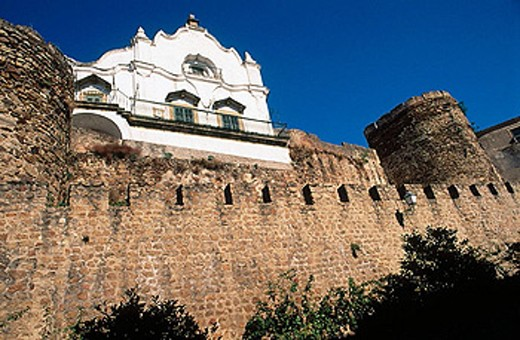 Stock Photo: 1566-361380 City walls. Plasencia. Cáceres province. Extremadura. Spain.