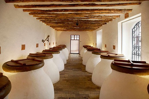 Stock Photo: 1566-361789 Olive oil. Núñez de Prado, (c.b.). Baena, Córdoba province. Andalucia. Spain.