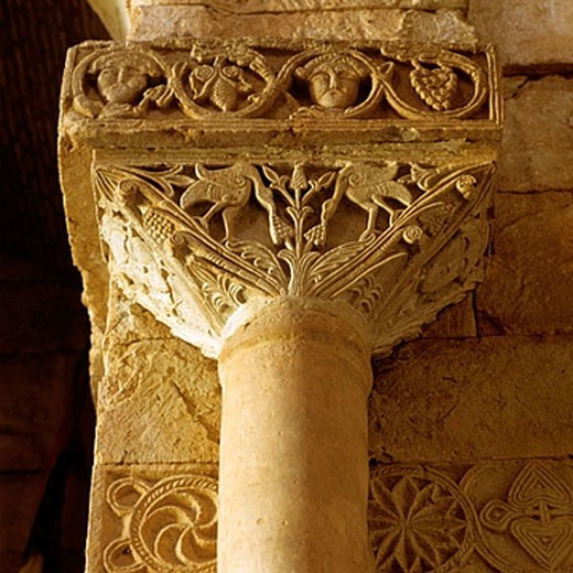 Stock Photo: 1566-362021 Visigothic capital. San Pedro de la Nave Church. Zamora. Spain.