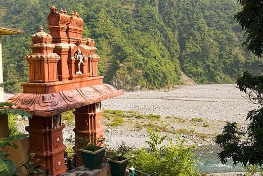 Haidakhan. Gautama Ganga Valley. India : Stock Photo
