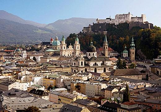 Salzburg Austria : Stock Photo