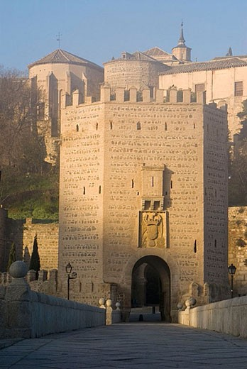 Puente de Alcantara. Toledo. Ruta de Don Quijote. Castilla-La Mancha, Spain : Stock Photo