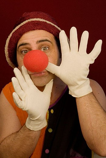 Clown. : Stock Photo