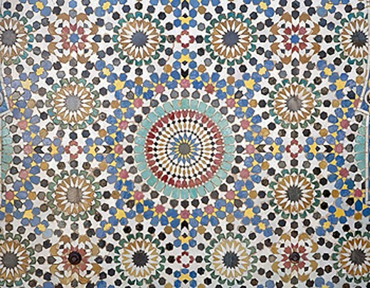 Stock Photo: 1566-367174 Mosaic. Morocco