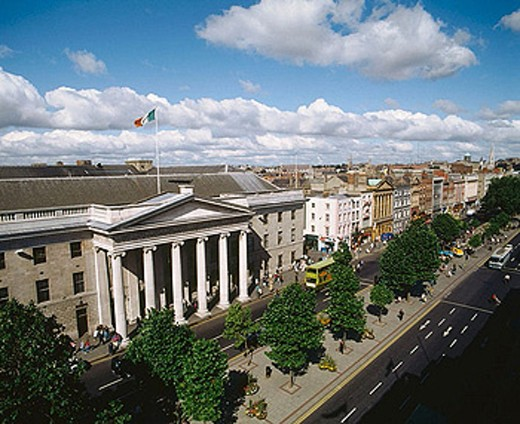 General Post Office building. O´Connell Street. Dublin. Ireland : Stock Photo