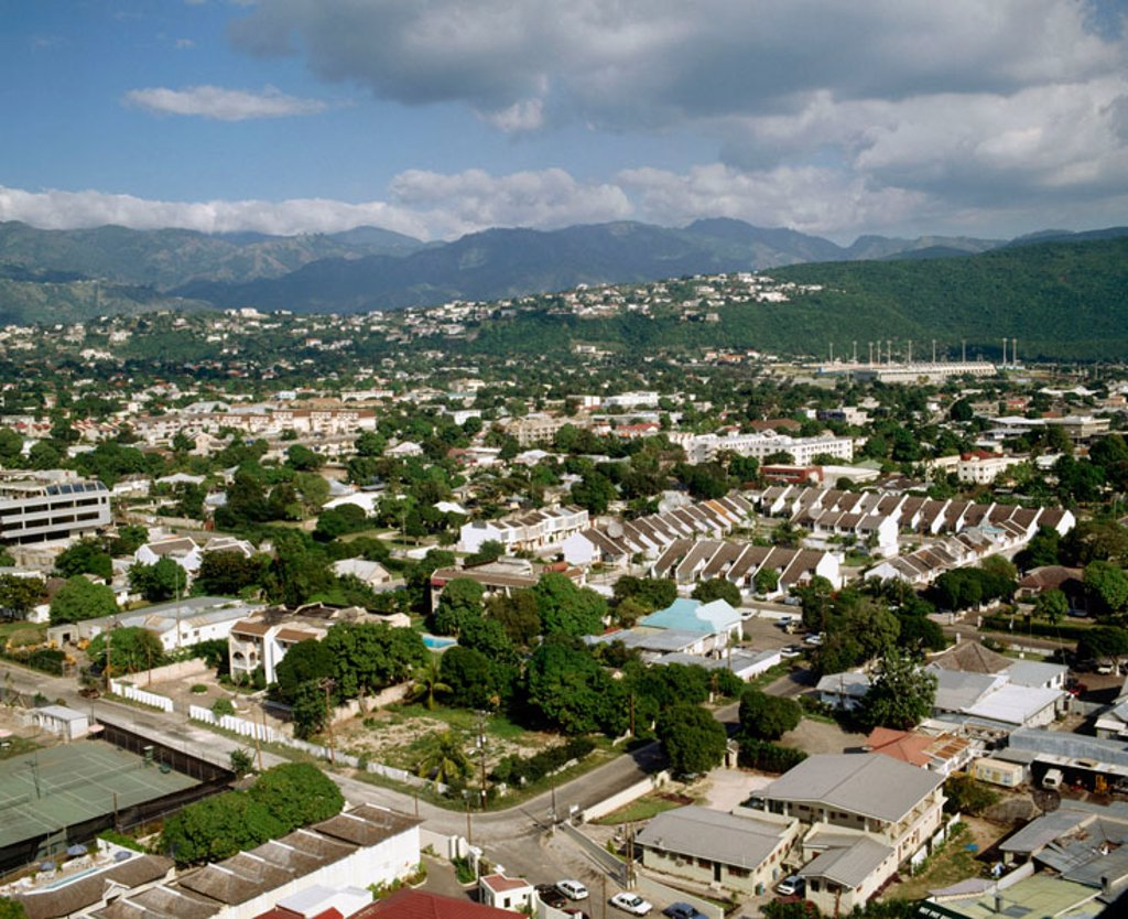 Stock Photo: 1566-367703 New Kinsgton. Kinsgton. Jamaica