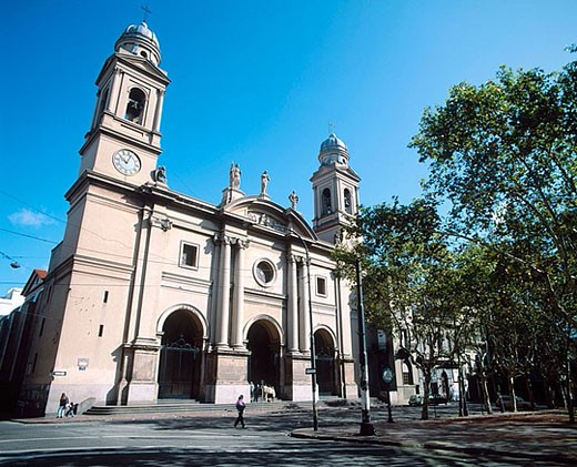Uruguay. Montevideo. Cathedral. : Stock Photo