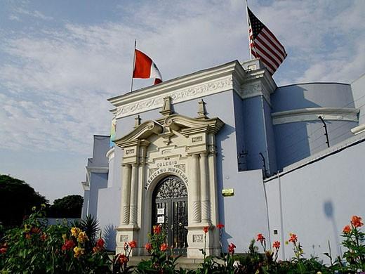 Colegio Americano Miraflores. Lima. Peru. : Stock Photo