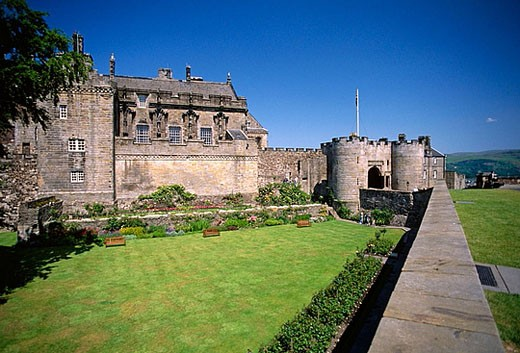 Stock Photo: 1566-368311 View of the Castle. Stirling. Scotland. UK.