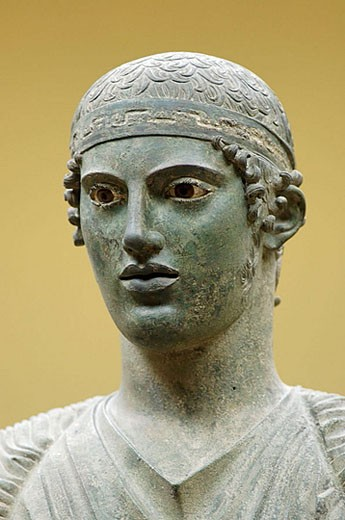 Stock Photo: 1566-369268 The Museum. Delphi archaeological site. Peloponnese Peninsula. Greece