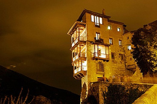 Stock Photo: 1566-369508 Hanging houses. Cuenca. Castilla-La Mancha, Spain