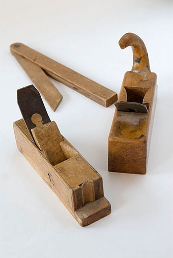 Stock Photo: 1566-370472 Old tools.